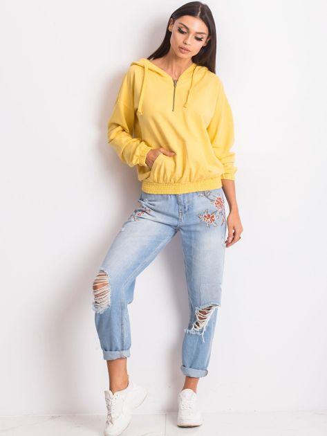 Żółta bluza Kimmie                              zdj.                              4