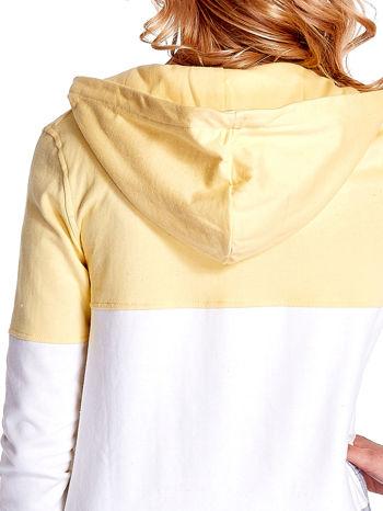 Żółta bluza w szerokie kolorowe pasy                                  zdj.                                  7