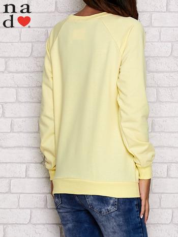 Żółta bluza z serduszkami                                  zdj.                                  3