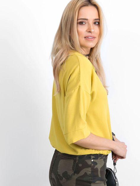 Żółta bluzka Hokum                              zdj.                              3