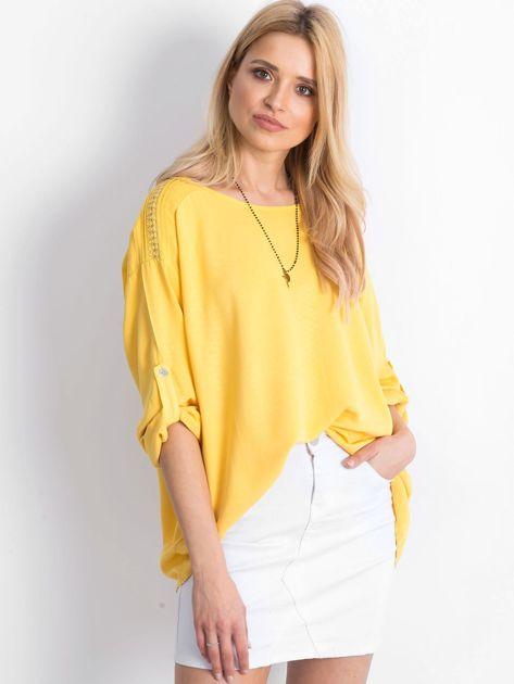 Żółta bluzka Idaho                              zdj.                              1