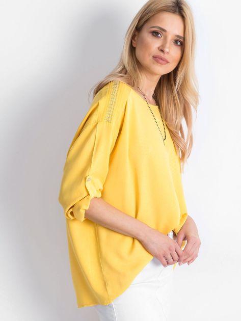 Żółta bluzka Idaho                              zdj.                              3