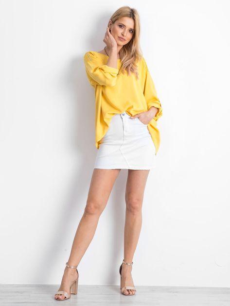 Żółta bluzka Idaho                              zdj.                              4