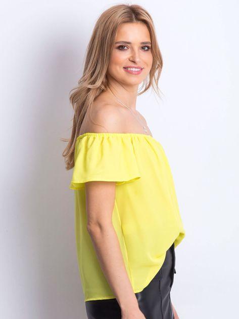 Żółta bluzka Structured                              zdj.                              2