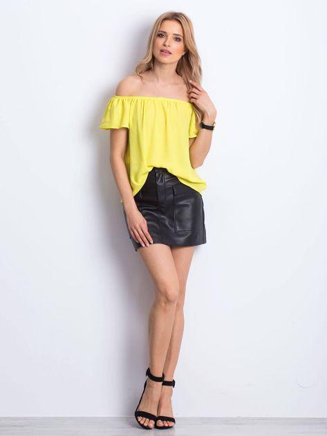 Żółta bluzka Structured                              zdj.                              4