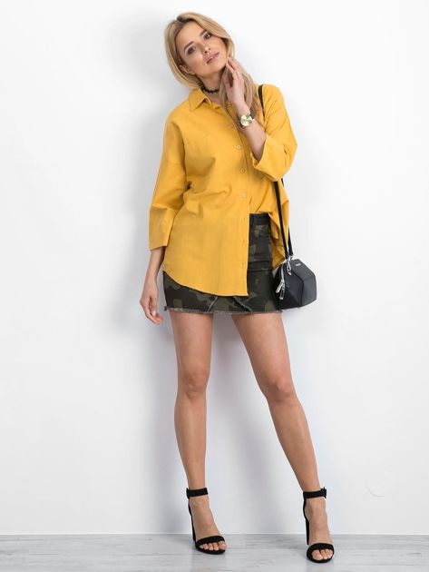 Żółta koszula Carnivore                              zdj.                              4