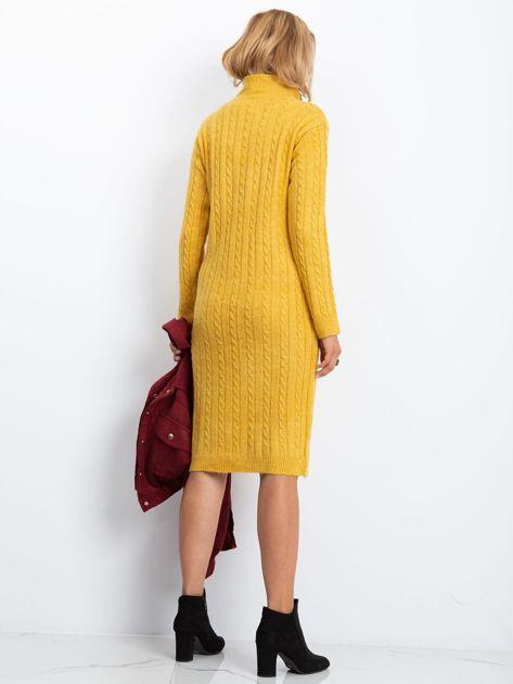 Żółta sukienka Evermore                              zdj.                              2