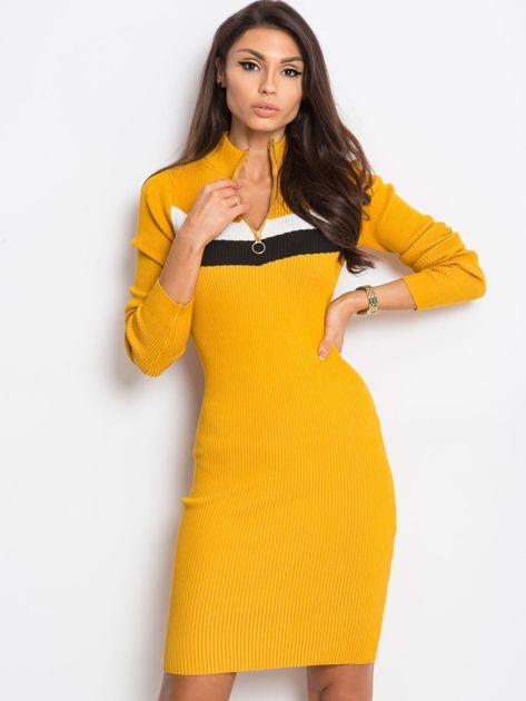 Żółta sukienka Freefall                              zdj.                              5