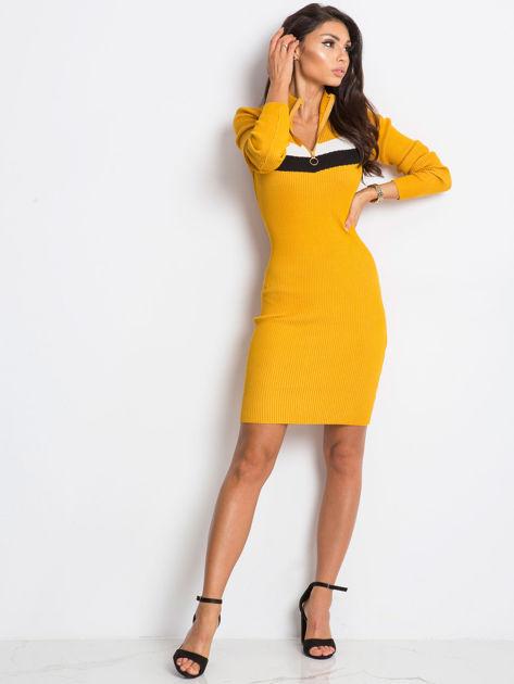 Żółta sukienka Freefall                              zdj.                              4