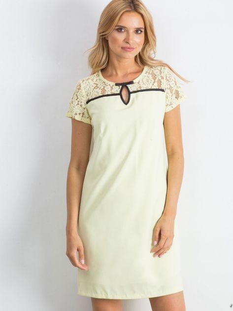 Żółta sukienka Irresistible                               zdj.                              1