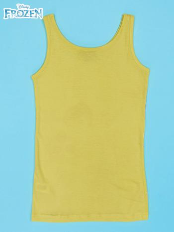 Żółta sukienka dla dziewczynki KRAINA LODU                                  zdj.                                  2