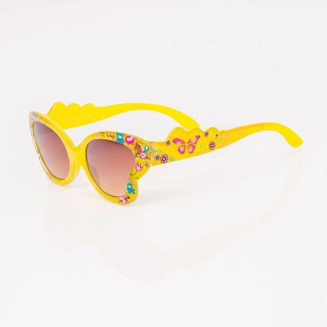 Żółte Dziecięce Okulary przeciwsłoneczne MOTYL                              zdj.                              2