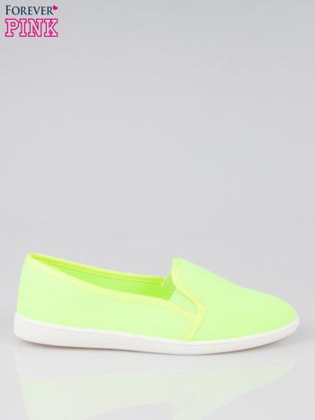 Żółte lekkie buty sliponki                                  zdj.                                  1
