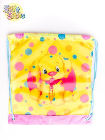 Żółty plecak worek DISNEY Soft Spots                                  zdj.                                  3