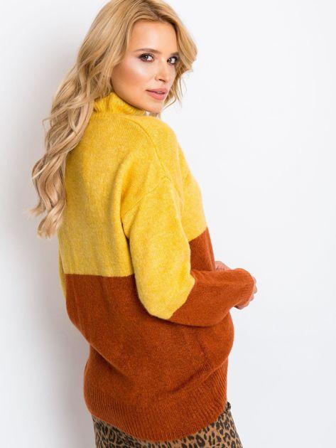 Żółty sweter Taylor                              zdj.                              2
