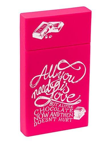 toys4smokers SLIM /Etui silikonowe na papierosy- Chocolate love                                  zdj.                                  1