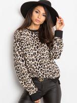 Beżowa bluza Panthera                                  zdj.                                  5