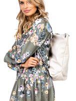 Beżowa torba-plecak z odpinanymi szelkami                                  zdj.                                  3