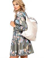 Beżowa torba-plecak z odpinanymi szelkami                                  zdj.                                  5