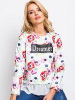 Biała bluza Dreamer                                  zdj.                                  5
