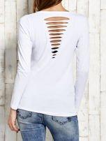 Biała bluzka cut out                                  zdj.                                  2