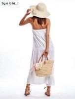 Biała sukienka maxi BY O LA LA                                   zdj.                                  3