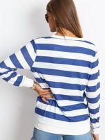 Biało-niebieska bluzka Athena                                  zdj.                                  2