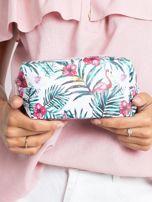 Biało-różowa torba z nadrukiem                                  zdj.                                  4