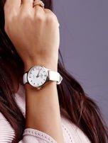 Biały Zegarek Damski z Motylem                                  zdj.                                  3