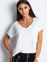 Biały t-shirt Emory                                  zdj.                                  1