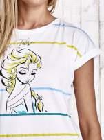 Biały t-shirt FROZEN                                  zdj.                                  5