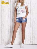 Biały t-shirt SMERFY                                  zdj.                                  8