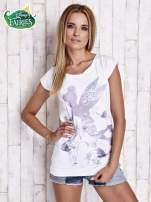 Biały t-shirt TINKER BELL                                                                           zdj.                                                                         3