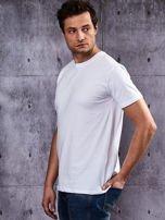 Biały t-shirt męski                                   zdj.                                  3