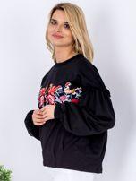 Bluza czarna z etnicznym haftem                                  zdj.                                  5