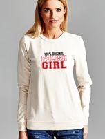 Bluza damska 100% ORIGINAL POLISH GIRL ecru                                  zdj.                                  1