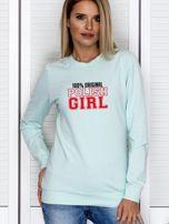 Bluza damska 100% ORIGINAL POLISH GIRL miętowa                                  zdj.                                  1