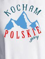 Bluza damska patriotyczna KOCHAM POLSKIE GÓRY ecru                                  zdj.                                  2