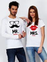 Bluzka biała męska dla par hipster MISTER                                  zdj.                                  3