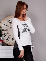 Bluzka z cekinami YOUR DREAMS ecru                                  zdj.                                  5
