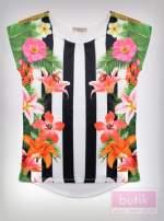 Bluzka z motywem kwiatowym                                  zdj.                                  2