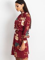 Bordowa sukienka Supply                                  zdj.                                  3