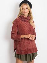 Bordowy sweter Lexie                                  zdj.                                  1