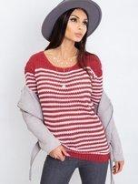 Bordowy sweter Oscar                                  zdj.                                  6