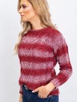 Bordowy sweter Shantelle                                  zdj.                                  6