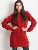 Ciemnoczerwony sweter Moment                                  zdj.                                  1
