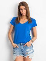 Ciemnoniebieski t-shirt Square                                  zdj.                                  1