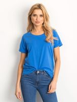 Ciemnoniebieski t-shirt Transformative                                  zdj.                                  1