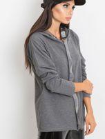 Ciemnoszara bluza Gianna                                  zdj.                                  3