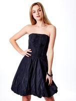 Ciemnoszara rozkloszowana sukienka                                   zdj.                                  6